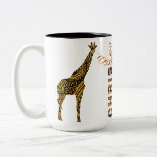 chris Two-Tone coffee mug