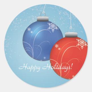 Chrismas Ornaments sticker