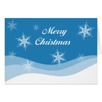 Chrismas Snow Card