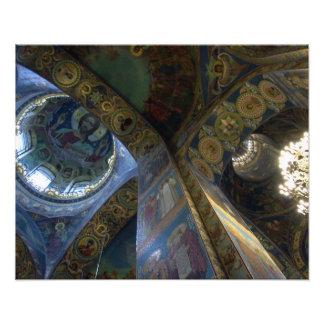 Christ Above Photographic Print