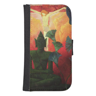 Christ and Buddha, c.1890-1892 Samsung S4 Wallet Case