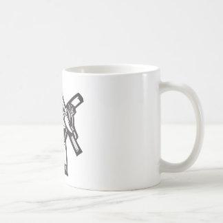 Christ and Cross Coffee Mugs