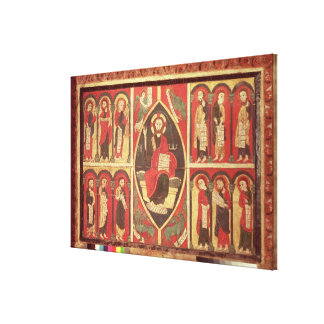 Christ and His Apostles Gallery Wrapped Canvas