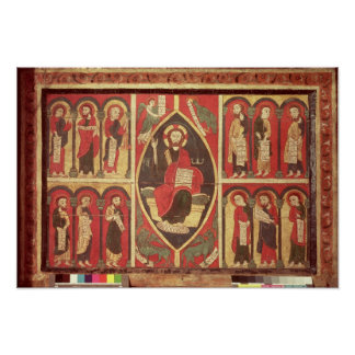 Christ and His Apostles Poster