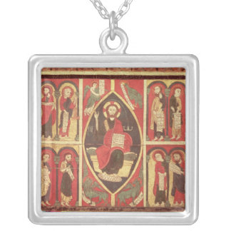 Christ and His Apostles Square Pendant Necklace