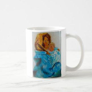Christ and Mary Coffee Mug