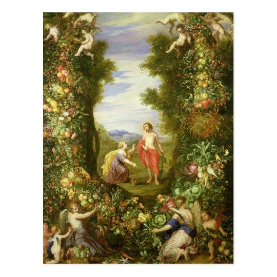 Christ and Mary Magdalene Postcard