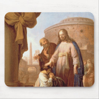 Christ and the Rich Young Ruler, 1640 Mouse Mat