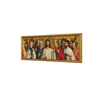 Christ and the Twelve Apostles Canvas Print
