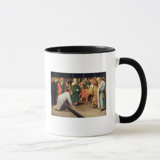 Christ and the women taken in adultery, 1628 mug