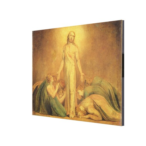 Christ Appearing to the Apostles after the Resurre Gallery Wrap Canvas