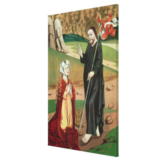 Christ Appears to Mary Magdalene Canvas Print