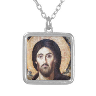 Christ as Ruler of All Silver Plated Necklace