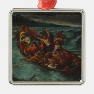 Christ Asleep during the Tempest Christmas Ornament