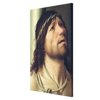 Christ at the Column, c.1475 Canvas Print