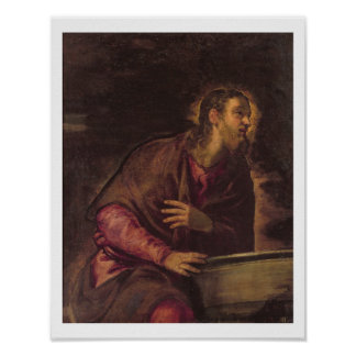 Christ at the Well, c.1560 (oil on canvas) (see 50 Poster