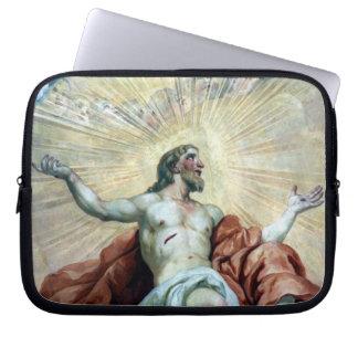christ aura laptop computer sleeves