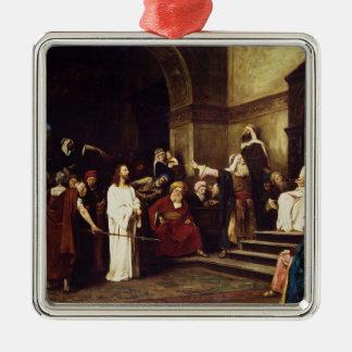 Christ Before Pilate Christmas Ornament