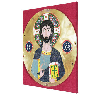 Christ Blessing, 10th-11th century Canvas Print