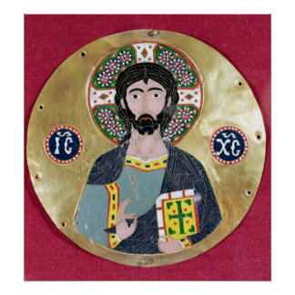 Christ Blessing, 10th-11th century Poster