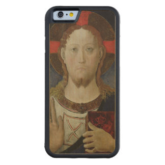 Christ Blessing Carved Maple iPhone 6 Bumper Case