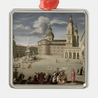 Christ blessing the people of Salzburg Christmas Ornament