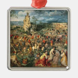 Christ carrying the Cross, 1564 Christmas Ornament