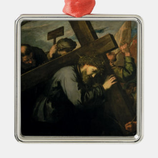 Christ Carrying the Cross, 1635 Christmas Ornament