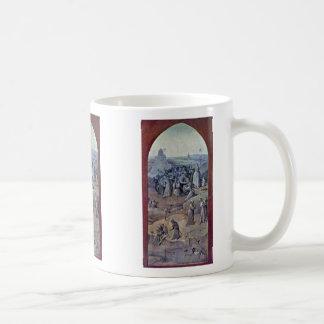 Christ Carrying The Cross [1]. By Hieronymus Bosch Mug