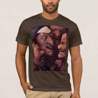 Christ Carrying The Cross.  By Hieronymu Bosch T-Shirt