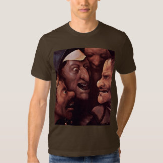 Christ Carrying The Cross.  By Hieronymu Bosch T-shirts