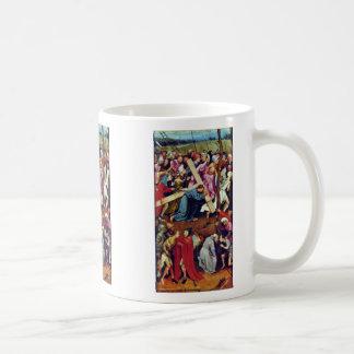 Christ Carrying The Cross. By Hieronymus Bosch Coffee Mug