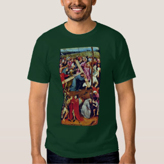 Christ Carrying The Cross. By Hieronymus Bosch Shirts