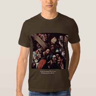 Christ Carrying The Cross.  By Hieronymus Bosch T Shirt