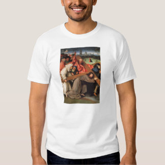 Christ Carrying the Cross by Hieronymus Bosch Tees