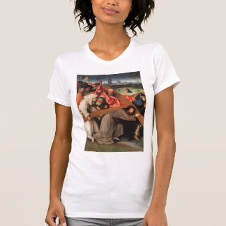 Christ Carrying the Cross by Hieronymus Bosch T Shirt
