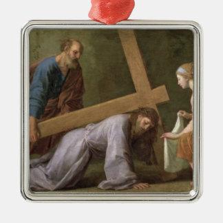 Christ Carrying the Cross, c.1651 Christmas Ornament