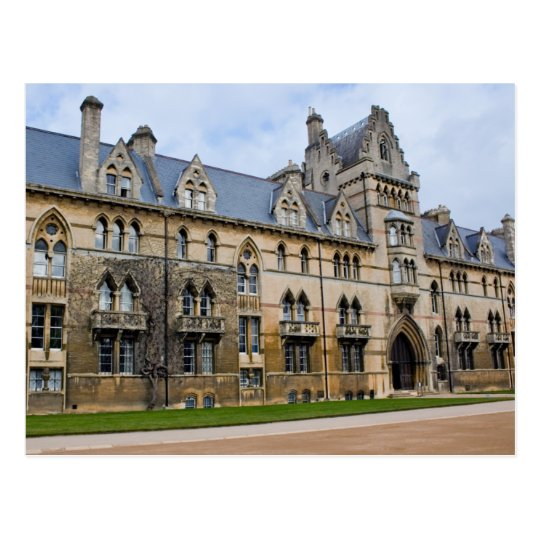 Christ Church College in Oxford, England Postcard
