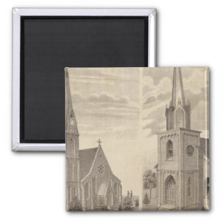 Christ Church, Red Wing, Minnesota Square Magnet