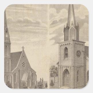 Christ Church, Red Wing, Minnesota Square Sticker
