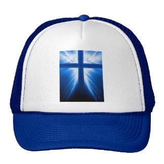 Christ Cross Mesh Hats