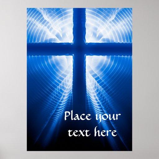 Christ Cross Poster