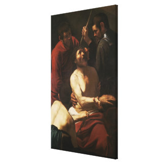 Christ Crowned by Thorns, c.1602 Canvas Print