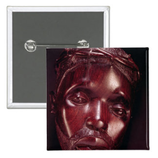 Christ Crowned with Thorns 15 Cm Square Badge