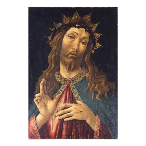 Christ Crowned with Thorns by Botticelli Photographic Print