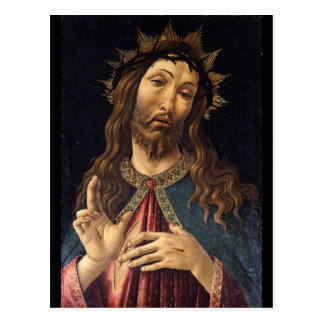 Christ Crowned with Thorns by Botticelli Postcards