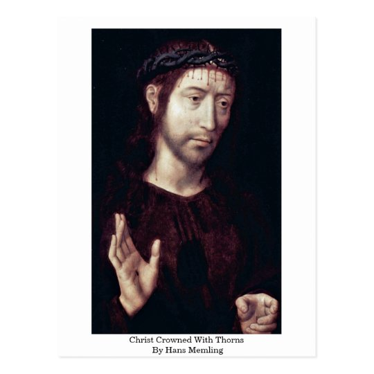 Christ Crowned With Thorns By Hans Memling Postcard