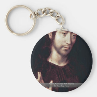 Christ, Crowned With Thorns By Memling Hans Keychains