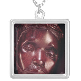 Christ Crowned with Thorns Silver Plated Necklace