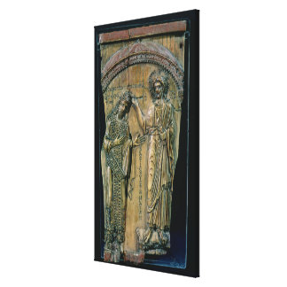 Christ Crowning the Emperor Constantine VII Canvas Print